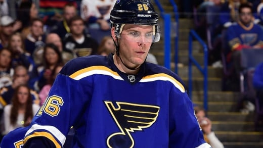 Blues Center Paul Stastny