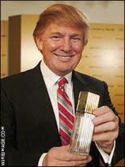 Trump only smiles when he makes more money or sells another piece of lucrative property.