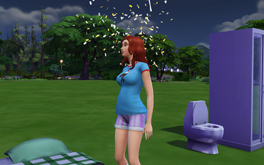 It's official: Delia's pregnant!