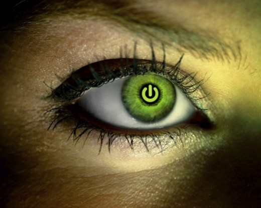 Scanning eye iris will be one of the main ways to identify who is requesting access