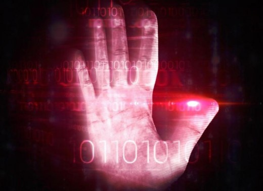 Fingerprint scan - another way to access your machine
