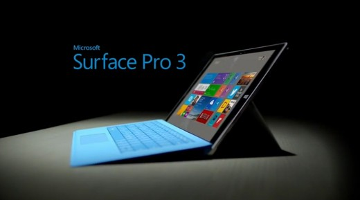 Surface pro 3 - an older brother of the new Surface. More powerful, but also more expensive model