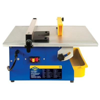 Tile Saw /  You will need this to cut your tiles. There are cheaper methods, but this is by far the easiest. / You can probably obtain one for about $70