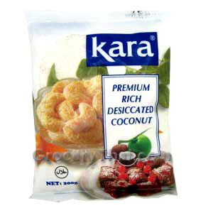 Shortcut: Grated Coconut at the supermarket