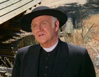 Robert William Dabbs Greer as Reverend Robert Alden on Little House on the Prairie