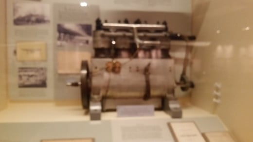 One of the first engines. It's only about the size of a computer!