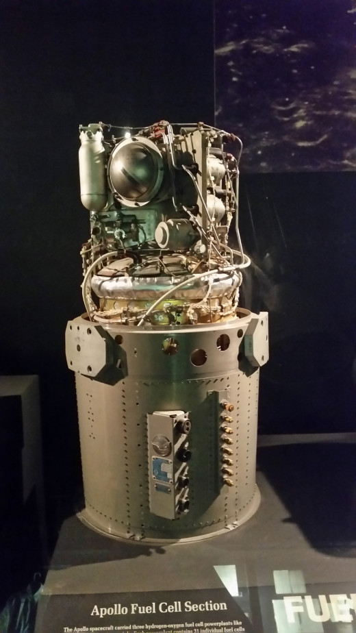 The Fuel Cell that helps the Lunar Module lift off from the Moon!