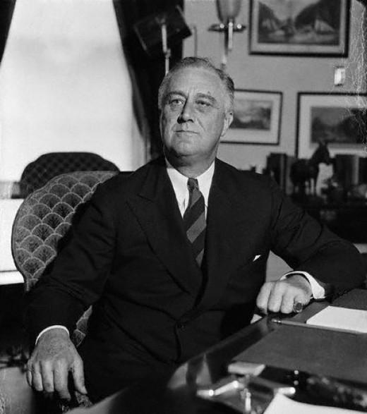 Lothropp Descendent Franklin Roosevelt