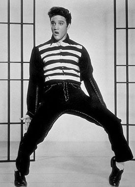 """Elvis Presley in """"Jailhouse Rock"""" (1957)"""