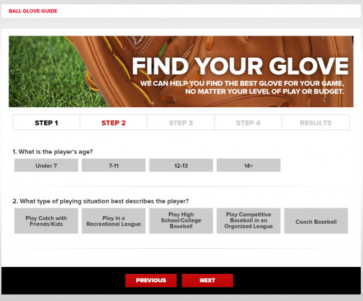 Wilson can help you find the right glove