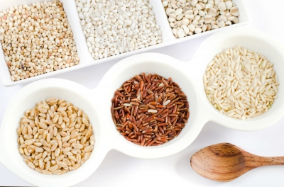 Top Views Grains Stock Photo