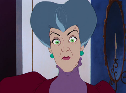 Lady Tremaine:   Time to cut a b****....