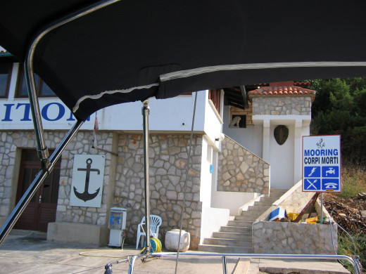 The restaurant on the Island of Lastovo!