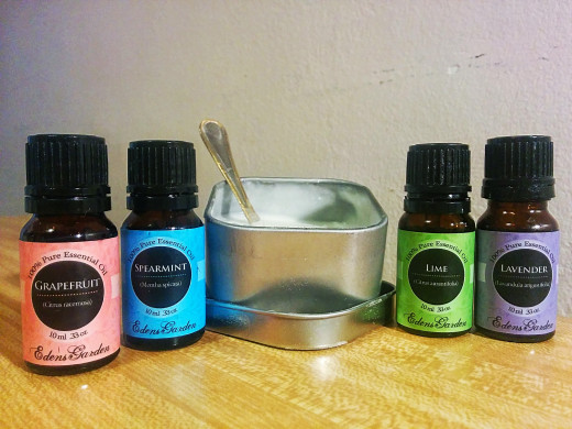 Essential oils add benefits to the skin scrub