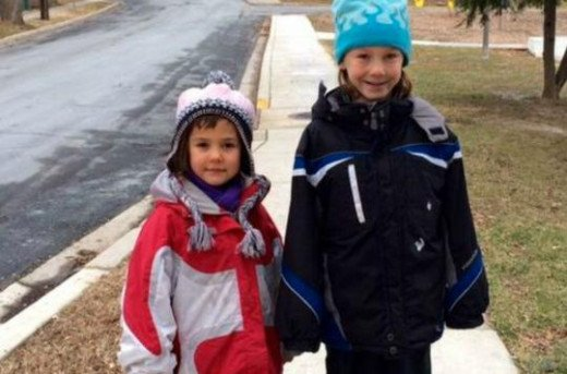 The Meitiv children, DVora, age 6 and Rafi, age 10, are no longer allowed to walk or be alone unsupervised because of CPS.