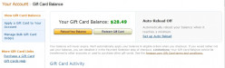 How can I redeem my Amazon Gift Card Balance?