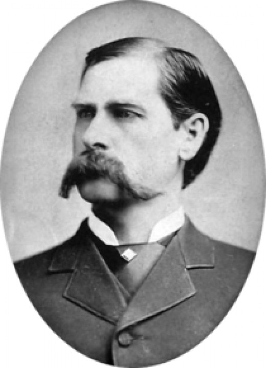 Wyatt Earp at the age of 42