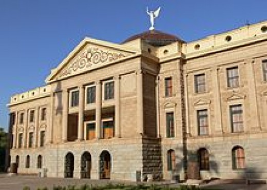 Original Arizona State Capitol building