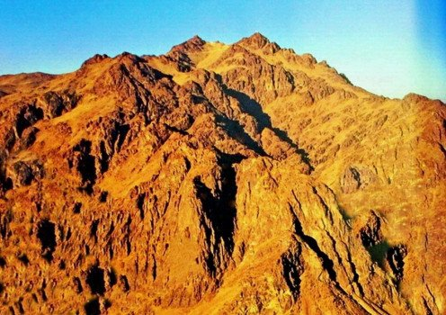 The summit of Mount Sinai