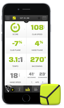 Zepp Swing Analyzer and App