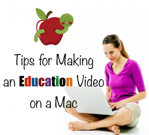 Teachers: How to Make Education Videos on a Mac. Tips for using iPhoto, Keynote and iMovie for the classroom.