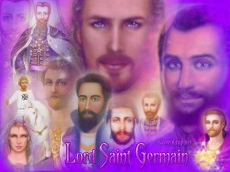 St. Germain is the Chohan of the Seventh Ray but has also been noted throughout mankind's history appearing in various incarnations.