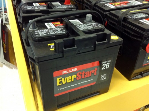 $99 car battery at Walmart