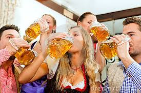 These foolish young people are just asking for pain and misery with their unwise consumption of beer.