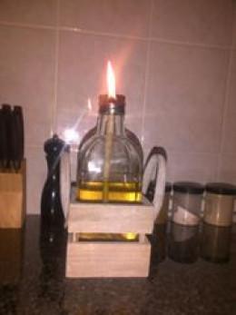 Mariaan Faure's oil lamp