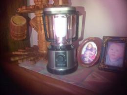 My battery lamp