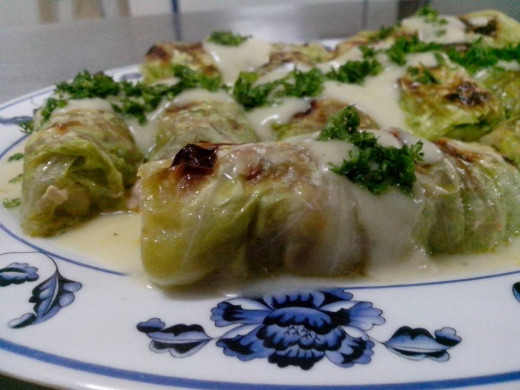 Swedish cuisine: Kaldolmar or cabbage rolls Photo Source: Ireno A. Alcala