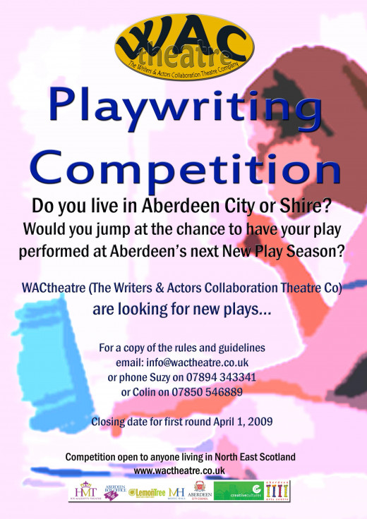 Playwriting Competition Leaflet