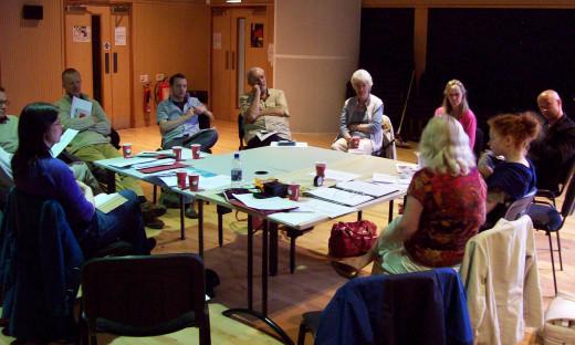 One of WACtheatre's early writers meetings