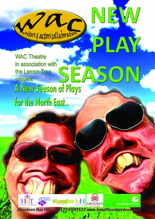 Cover for the WACtheatre New Play Season