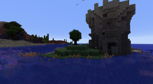 The new dungeons are easy to spot, and seem to spawn more around villages and shorelines.