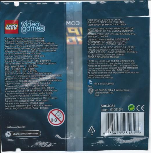 LEGO Plastic Man Polybag Back