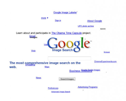 Google Sphere - a fun way to search for images