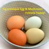 Unique Egg Recipe - Green Bean, Mushroom and Tuna Frittata