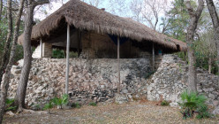 Visiting Mayan Ruins - Xel-Ha