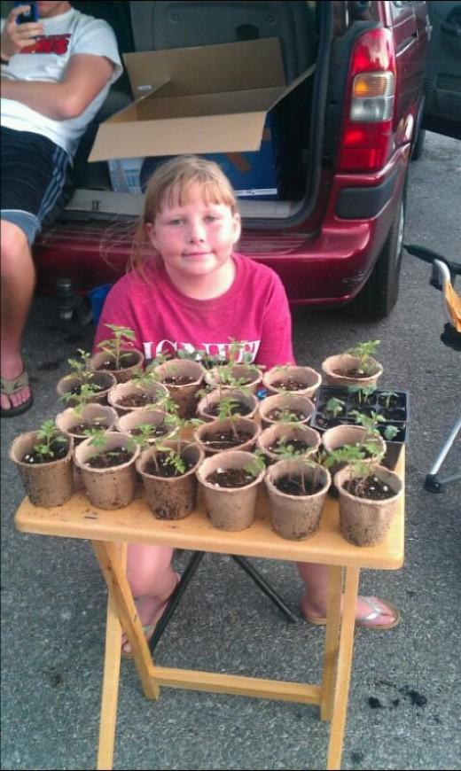 Aubrey's plant business