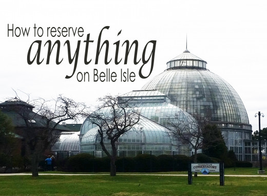 How to reserve anything on Belle Isle