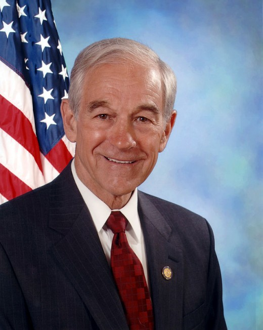 Picture of Ron Paul.
