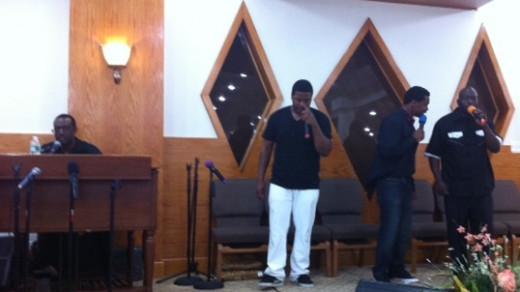 Curtis Ray (Leader), Rasheed Dorsey, Evans Primus, Marvin Eady (Lead Singer)