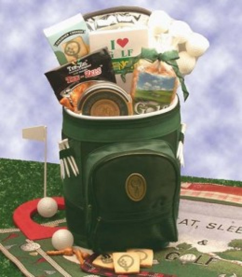 Sports Gift Basket Golfing Around Golf Sports Bag