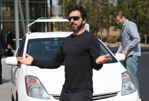 Sergey Brin and the Autonomous Automobile