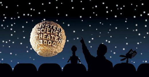 The three main viewers of MST3K's various movies. The human might be one of two people.