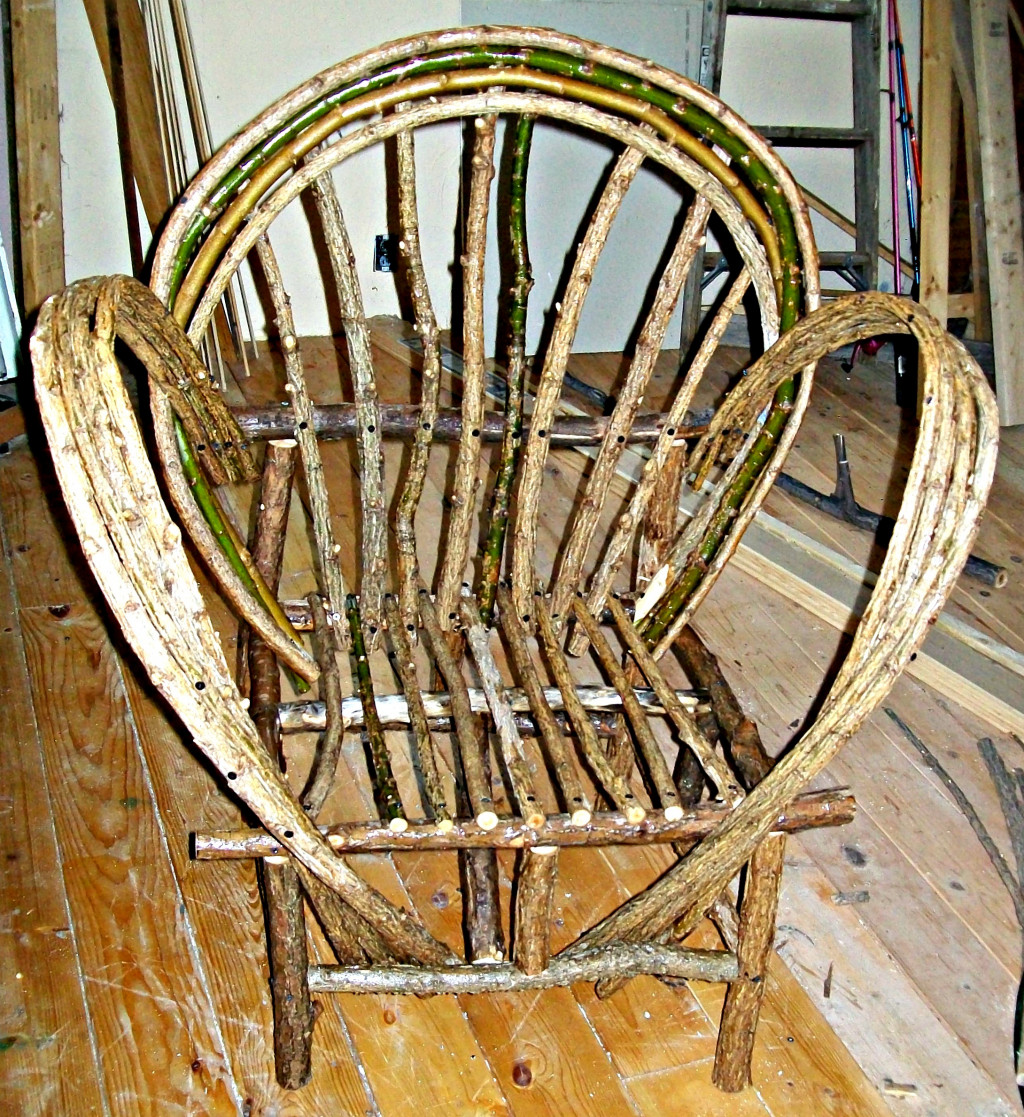 How To Build A Bent Willow Chair