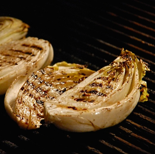 Barbecued and grilled Belgian endive (chicory) is a delight that you must try. See the great range of Belgian endive recipes in this article