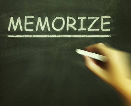Memorize:  How to memorize, how to memorize  fast and memorization  techniques. We all need to memorize something for some reason and we're all looking for a better method to use as we try to memorize grocery lists, languages or school work.