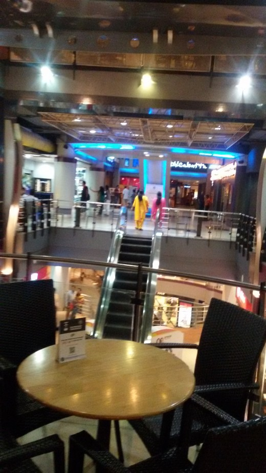 Inside Forum Shopping Mall - Kolkata